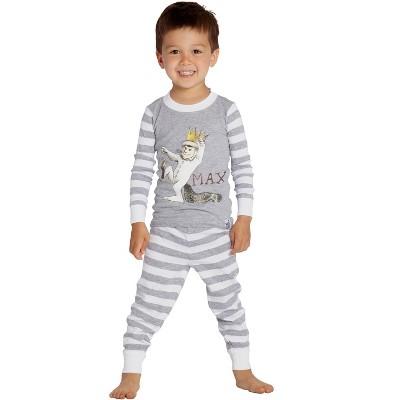 Where The Wild Things Are Boys Toddler Max Cotton Pajama Set