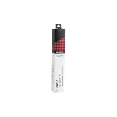 Cricut 2pk Infusible Ink Transfer Tape Sheet Patterned - Buffalo Check Red