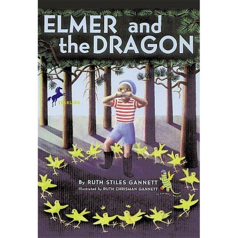 Elmer and the Dragon - (My Father's Dragon Trilogy (Paperback)) by  Ruth Stiles Gannett (Paperback) - image 1 of 1