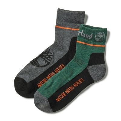 Timberland Men's 2-Pack Hiking Ankle Socks
