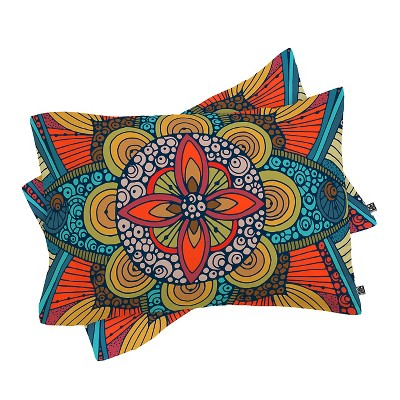 Valentina Ramos My Harmony Pillow Sham Standard Yellow - Deny Designs®
