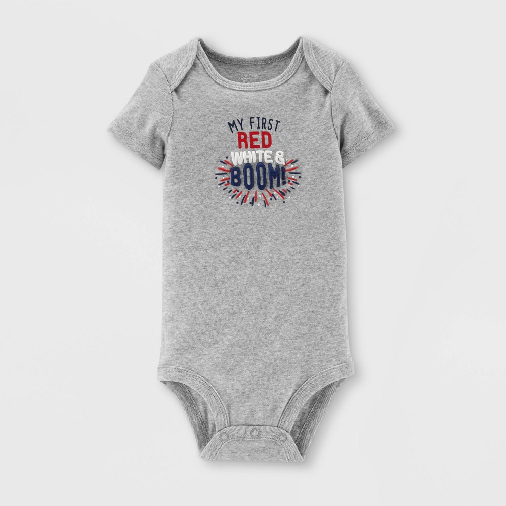 Baby Boom Bodysuit - Just One You made by carter's Gray 6M, Infant Unisex