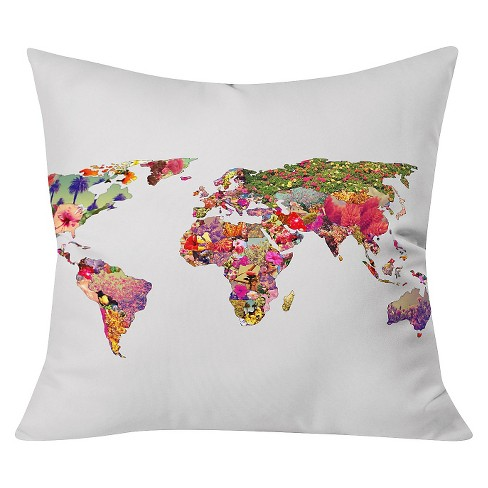 Bianca Its Your World Throw Pillow - Deny Designs - image 1 of 3