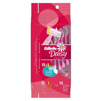 Gillette Daisy Women's Disposable Razors  - 12ct