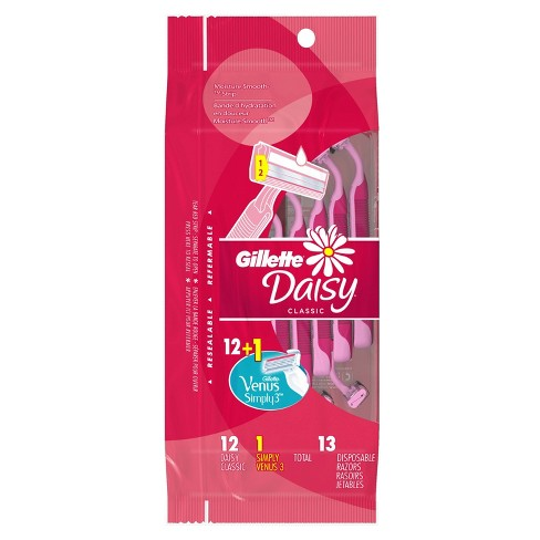 Gillette Daisy Women's Disposable Razors  - 12ct - image 1 of 3