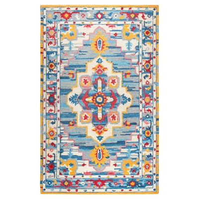 Natural Abstract Tufted Area Rug - (5'x8')- Rizzy Home