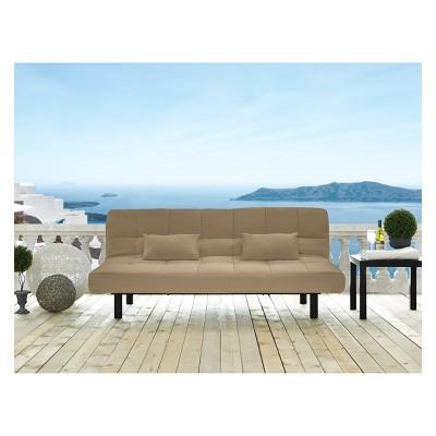 Carmel Outdoor Convertible Sofa Sand   Serta : Target