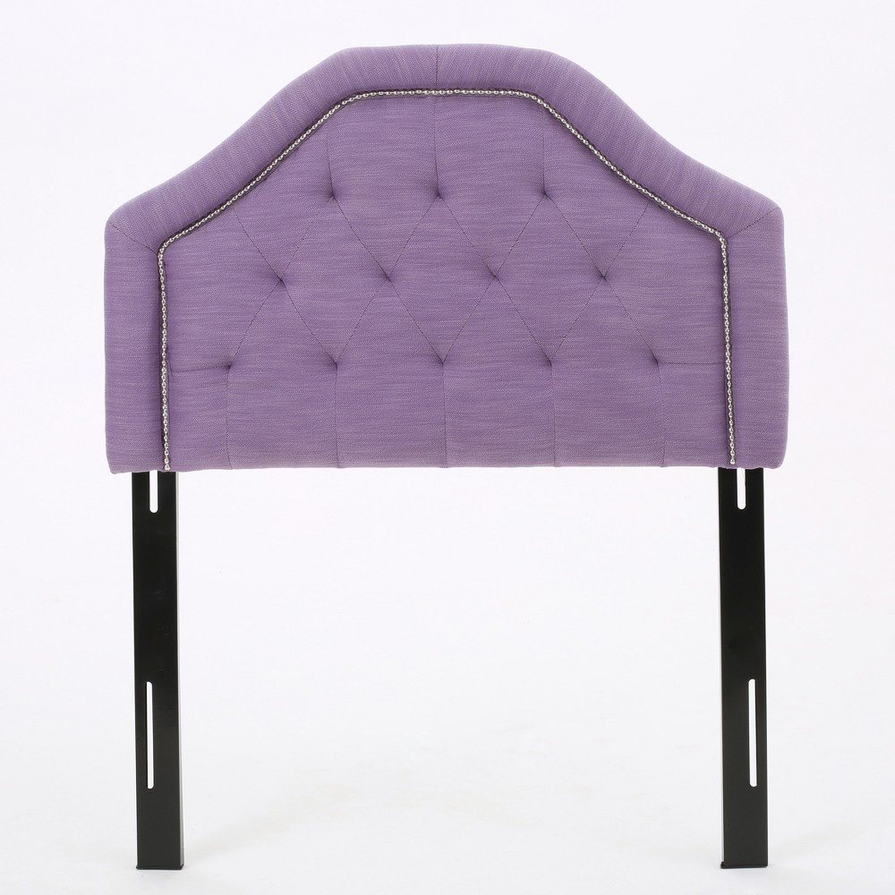 Image of Daphne Kid's Headboard - Twin - Light Purple - Christopher Knight Home