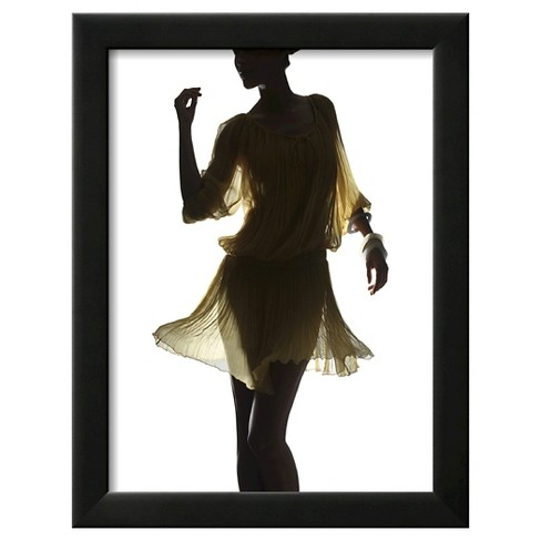 Art.com - Silhouette of a Woman by Graeme Montgomery - image 1 of 3