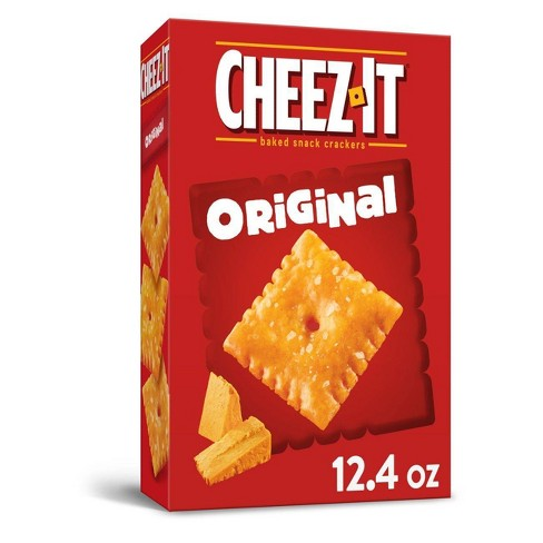 Cheez-It Original Baked Snack Crackers - 12.4oz - image 1 of 4