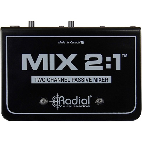 Radial Engineering MIX 2:1 Two Channel Audio Combiner & Mixer - image 1 of 4