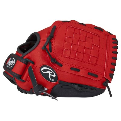"Rawlings Player Series 11"" T Ball Glove - Red"