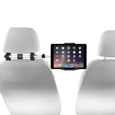 """Macally Dual Position Car Seat Head Rest Mount and Holder, 7""""-10"""" Tablets"""