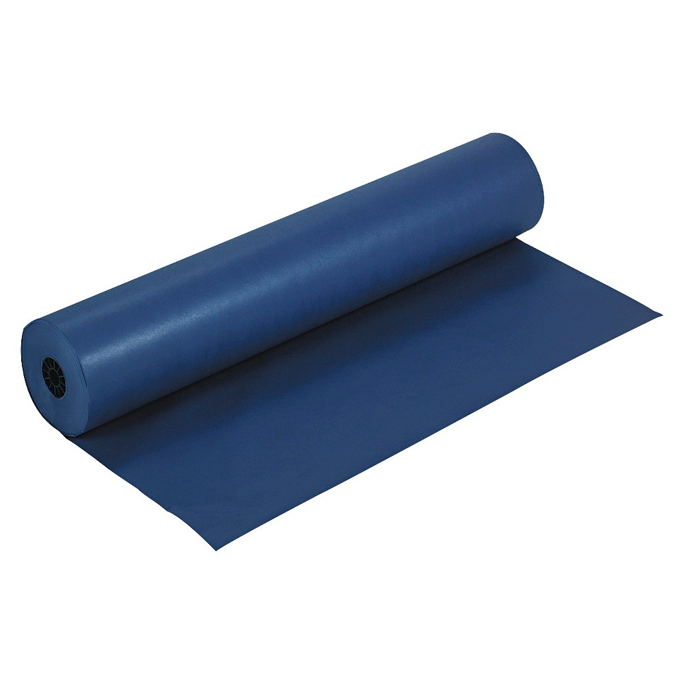 "Image of ""Pacon Rainbow Duo-Finish Colored Kraft Paper, 35 lbs., 36""""x1000' - Dark Blue"""