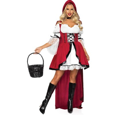 Adult Red Riding Hood Halloween Costume M/L