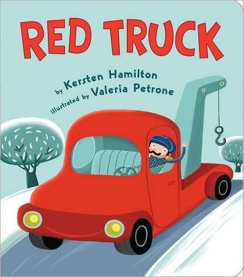 Red Truck (Board)by Kersten Hamilton