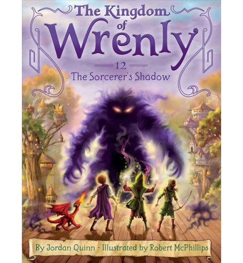 Sorcerer's Shadow -  (Kingdom of Wrenly) by Jordan Quinn (Hardcover) - image 1 of 1