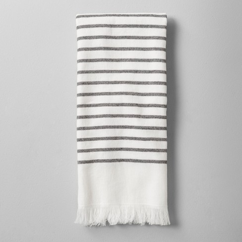 Hand Towel Striped Graywhite Hearth Hand With Magnolia Target