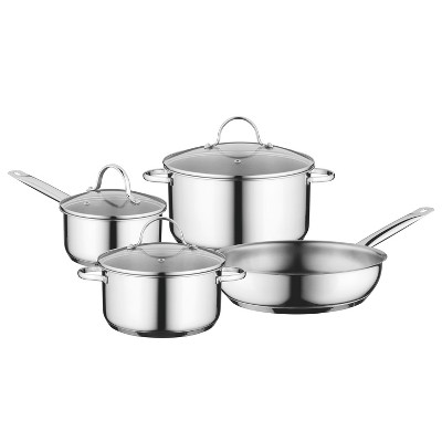 BergHOFF Essentials Comfort 7pc  18/10 Stainless Steel Cookware Set