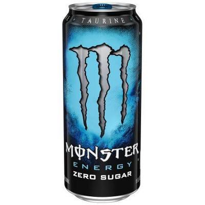 Monster Energy, Absolutely Zero - 16 fl oz Can