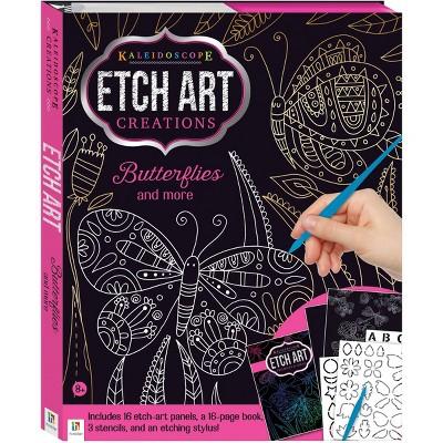Kaleidoscope Etch Art Creations: Butterflies and More - Hinkler Books