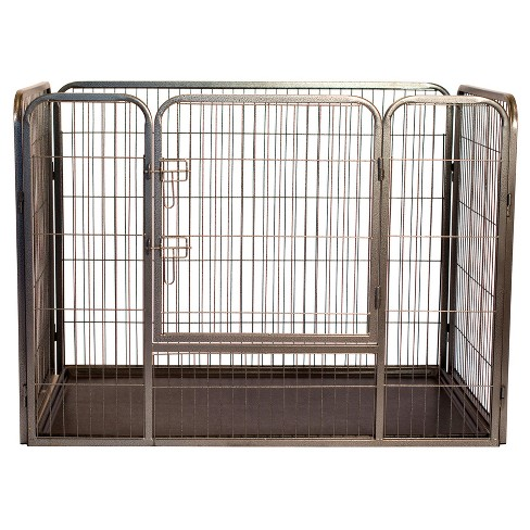 Heavy Duty Rectangle Tube pen Dog Cat Pet Training Kennel Crate - image 1 of 4