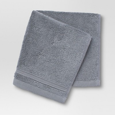 Performance Washcloth Dark Gray - Threshold™