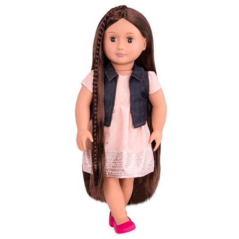 Our Generation Hair Play Doll Kaelyn Target