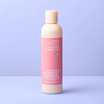 2-in-1 Bubble Body Wash - 8.11 fl oz - More Than Magic™ Orange Cream Crave