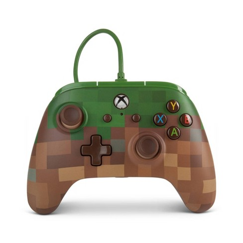 PowerA Wired Controller for Xbox One - Minecraft Grass - image 1 of 4