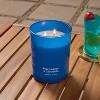 15oz Jar 2-Wick Americana Citronella Blue Lagoon Candle - Sun Squad™ - image 2 of 3