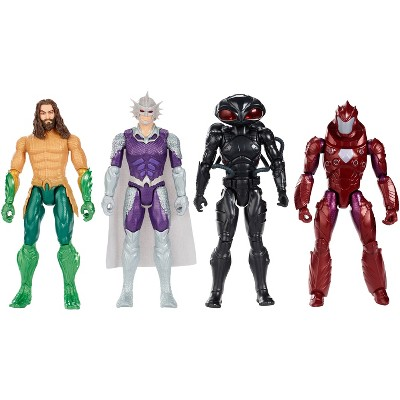 "Aquaman True-Moves 12"" Action Figures 4pk"