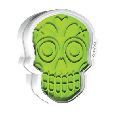 Tovolo Sugar Skull Cookie Cutter Spring Green 81-22492