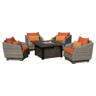 Cannes 5pc Fire Chat Set - RST Brands