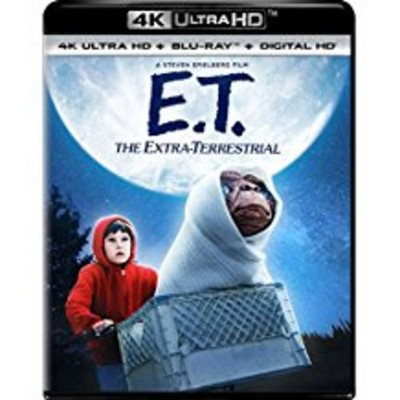 E.T. The Extra-Terrestrial (4K/UHD + Blu-ray + DVD + Digital)