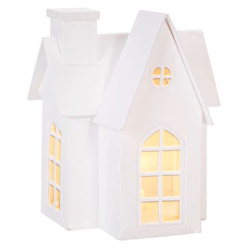 Hand Made Modern - Paper Craft LED-lit House - Small - image 1 of 1