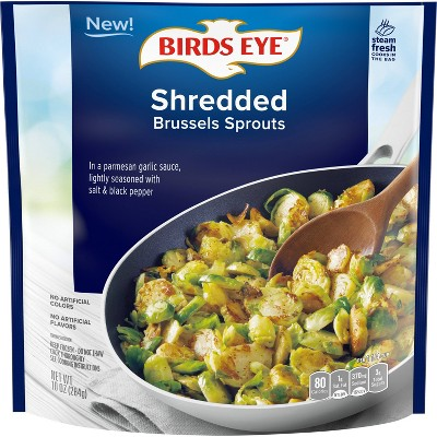 Birds Eye Shredded Frozen Brussel Sprouts in Garlic Sauce -  10oz