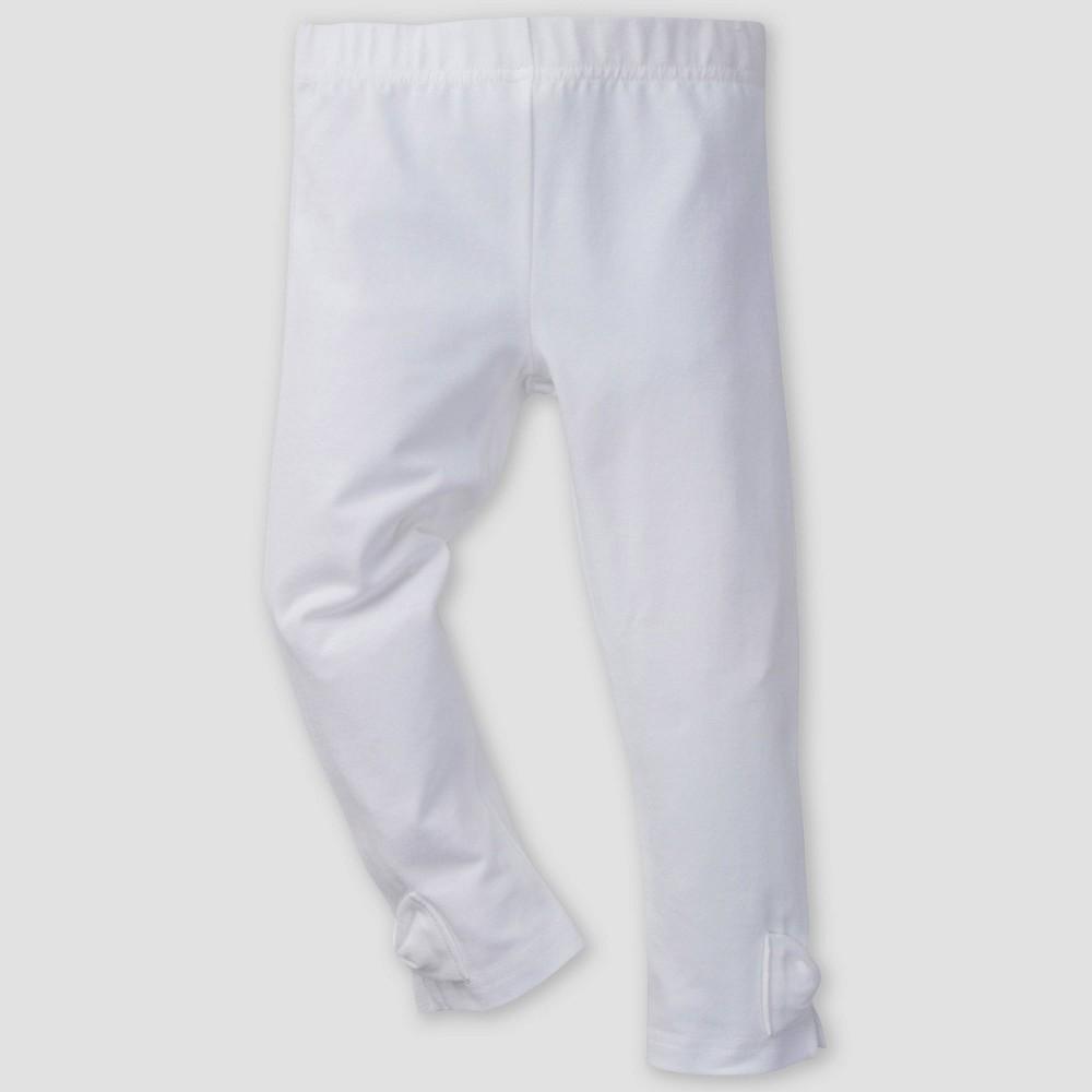 Gerber Baby Girls' Leggings - White 24M