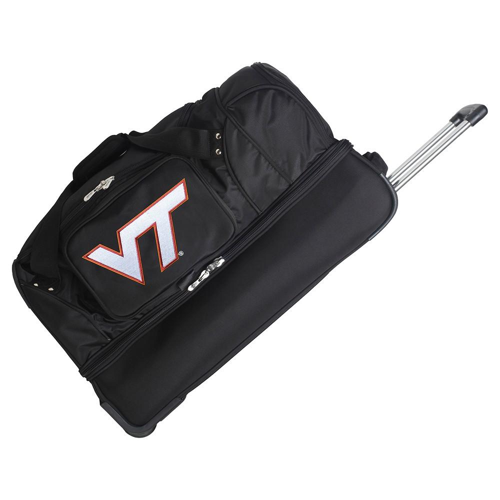 NCAA Virginia Tech Hokies 27'' Rolling Drop Bottom Duffel Bag