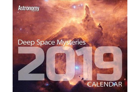 Deep Space Mysteries 2019 Calendar -  (Paperback) - image 1 of 1