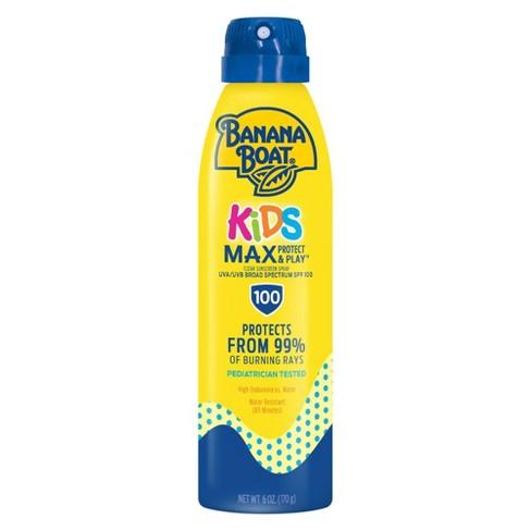 Banana Boat Kids Max Protect & Play Sunscreen C-Spray - SPF 100 - 6oz - image 1 of 4