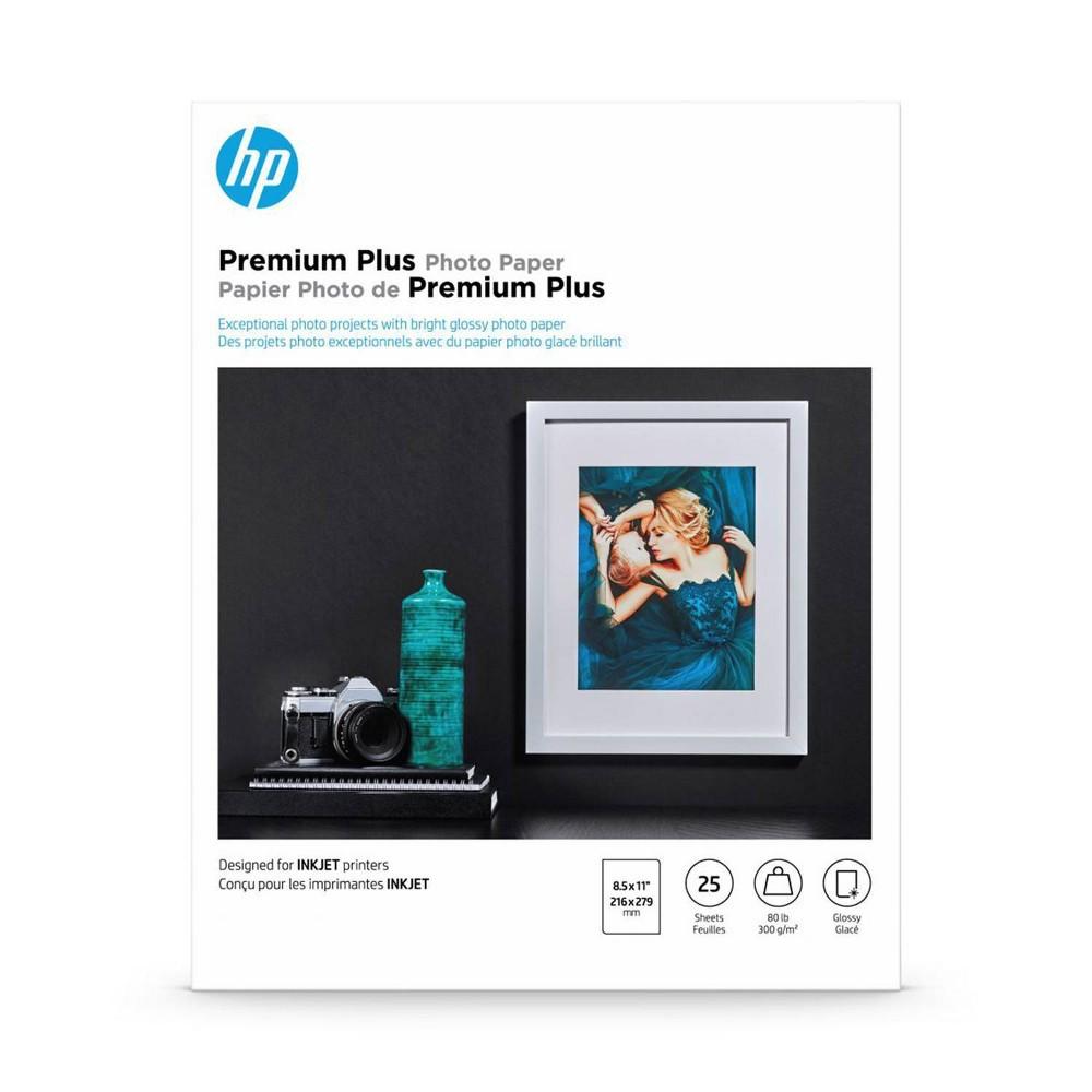 HP Premium Plus Photo Glossy Printer Paper - White (CR670A) Compare