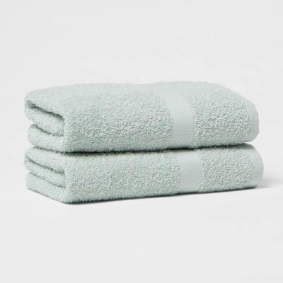 2pk Hand Towel Set Mint - Room Essentials™
