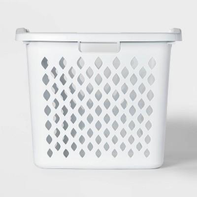 2.1bu Hamper Basket White - Room Essentials™