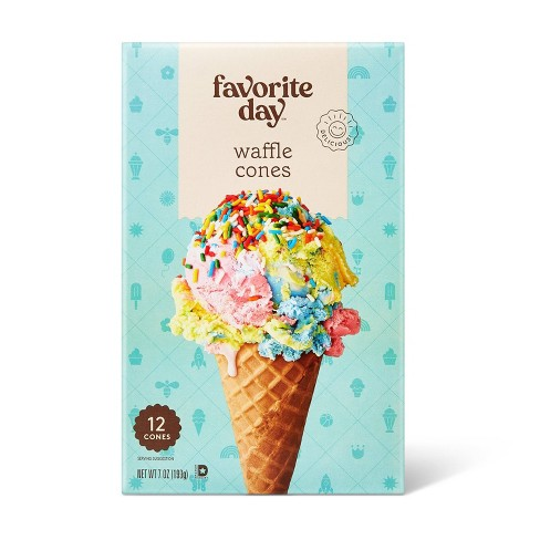 Waffle Cones - 12ct - Favorite Day™ - image 1 of 3