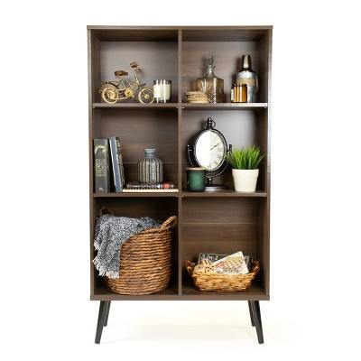 "55.24"" Bookcase with Adjustable Shelving - Humble Crew"