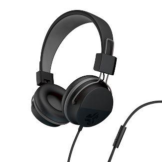 JLab Neon Wired On-Ear Headphones - Black (HNEONRBLK4)