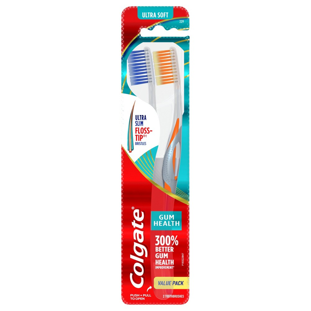 Colgate Gum Health Extra Soft Toothbrush 2ct