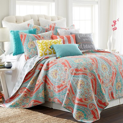 Greenwich Multi Quilt and Pillow Sham Set - Levtex Home