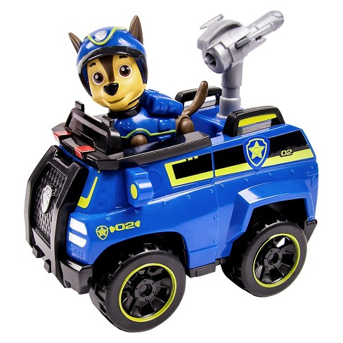 paw patrol chase s spy cruiser vehicle and figure target